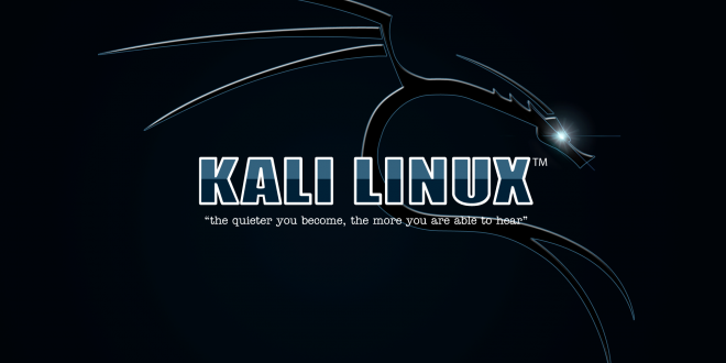 آموزش تصویری نصب کالی لینوکس
